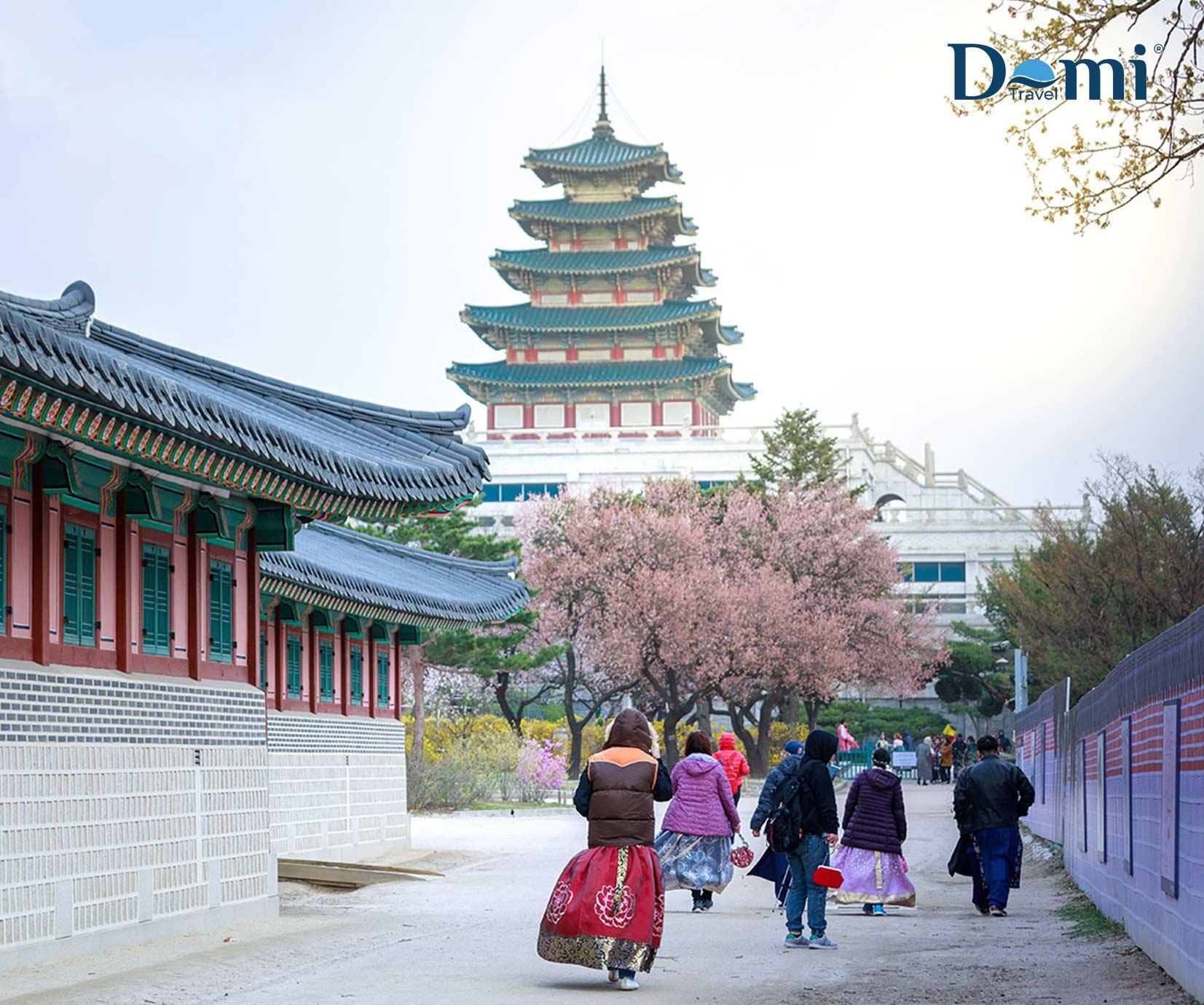 TOUR DU LỊCH HÀN QUỐC – SEOUL – NAMI LOTTE WORLD 4N4Đ