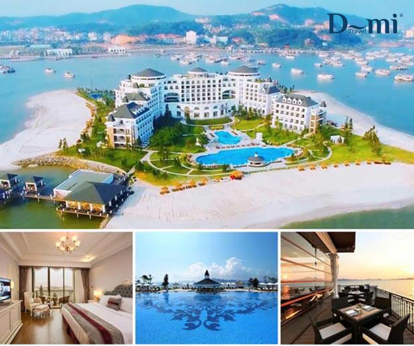 Thiên đường nghỉ dưỡng tại Vinpearl Resort & Spa Hạ Long với gói Booking khách sạn nghỉ dưỡng đẳng cấp 5 sao tại Vinpearl Resort & Spa Hạ Long + Xe đón tiễn tại Sân Bay