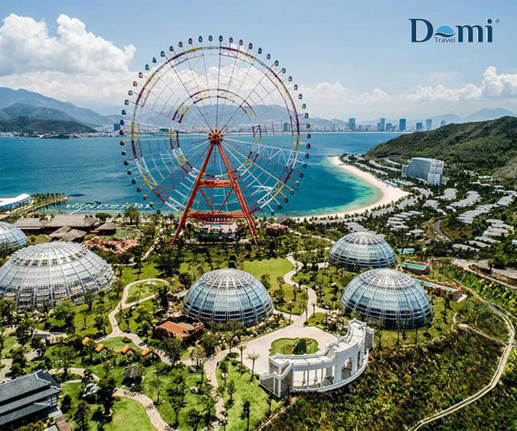Booking khách sạn nghỉ dưỡng đẳng cấp 5 sao tại Vinpearl Resort Nha Trang + Xe đón tiễn tại Sân Bay + Safari không giới hạn.