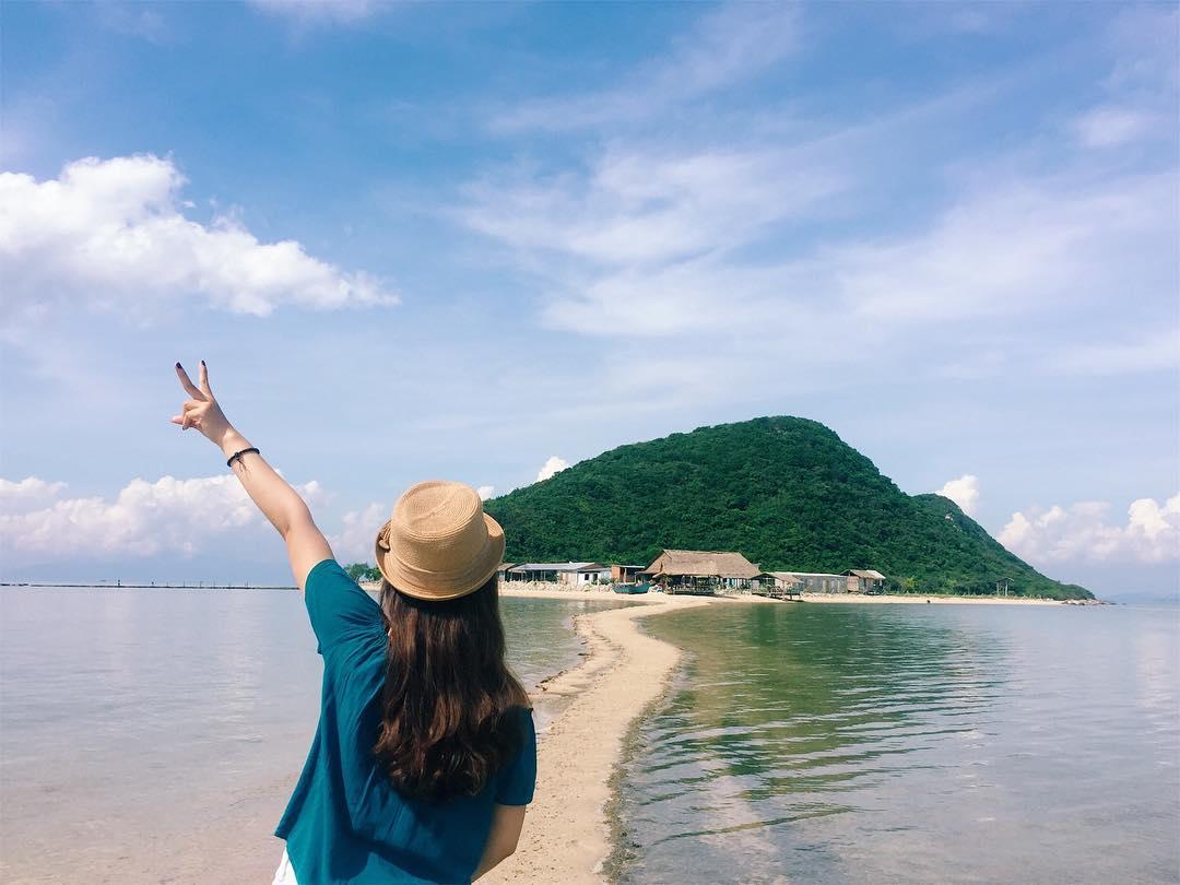 Dạo chơi Đảo Điệp Sơn – con đường mòn lối ra Đại Dương