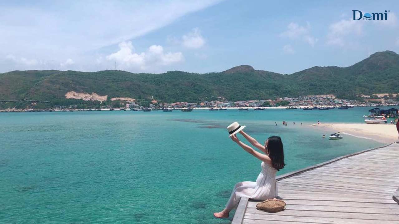 Đảo Hòn Khô - Quy Nhơn (Ảnh sưu tầm)