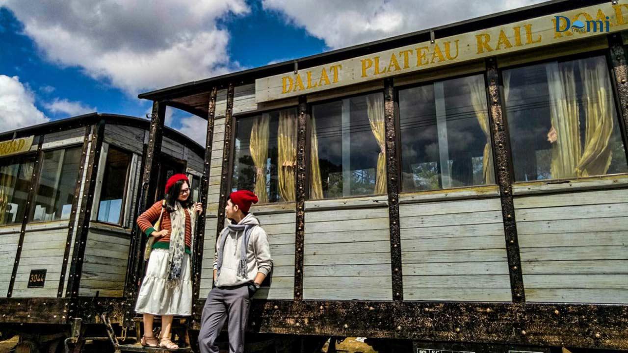 Hình ảnh nhà ga Đà Lạt (Ảnh sưu tầm)